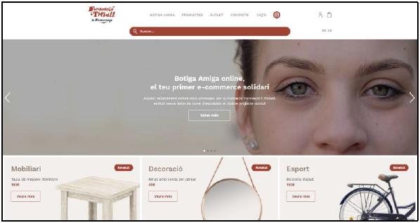 Botiga Amiga, e-commerce 100% solidari i sostenible