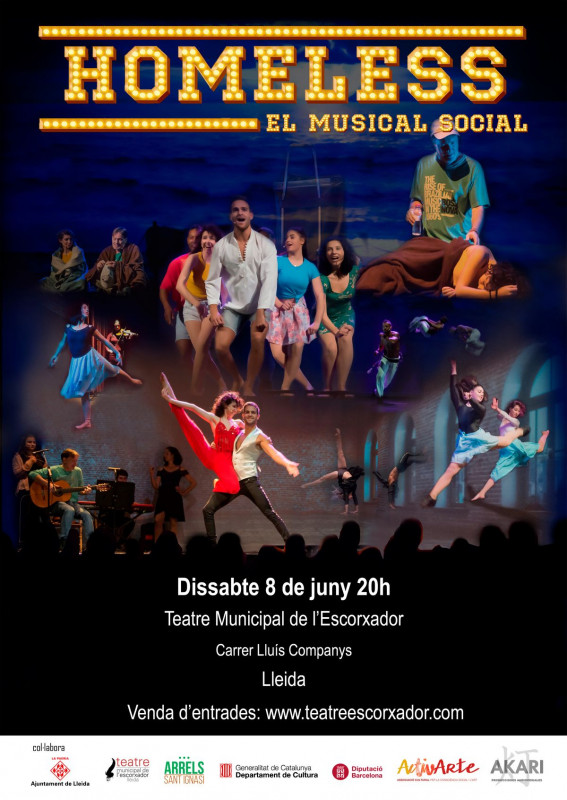 'Homeless, el musical social', 8 de juny a Lleida