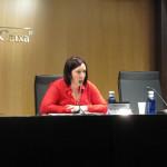 Sonia Fuertes, presidenta d'ECAS, obre la jornada