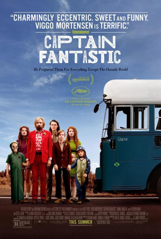 Cinema a la fresca: 'Captain Fantastic' el 21 de juny