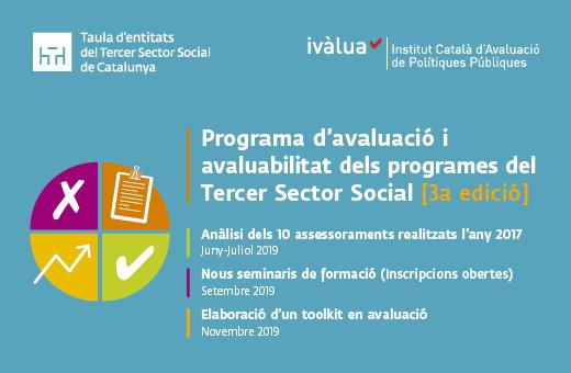 Programa d'avaluació i avaluabilitat dels programes del Tercer Sector Social