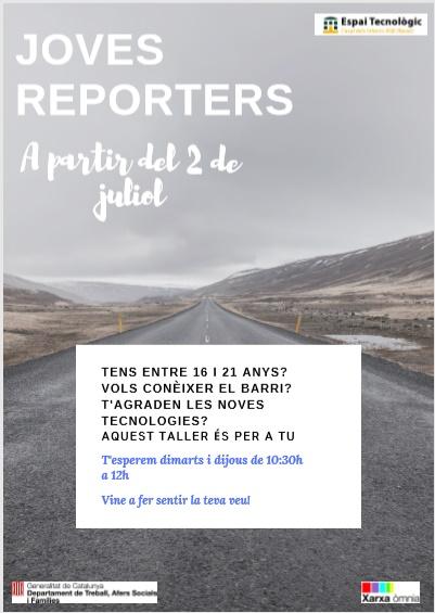 Taller 'Joves reporters' del Casal dels Infants, a partir del 2 de juliol