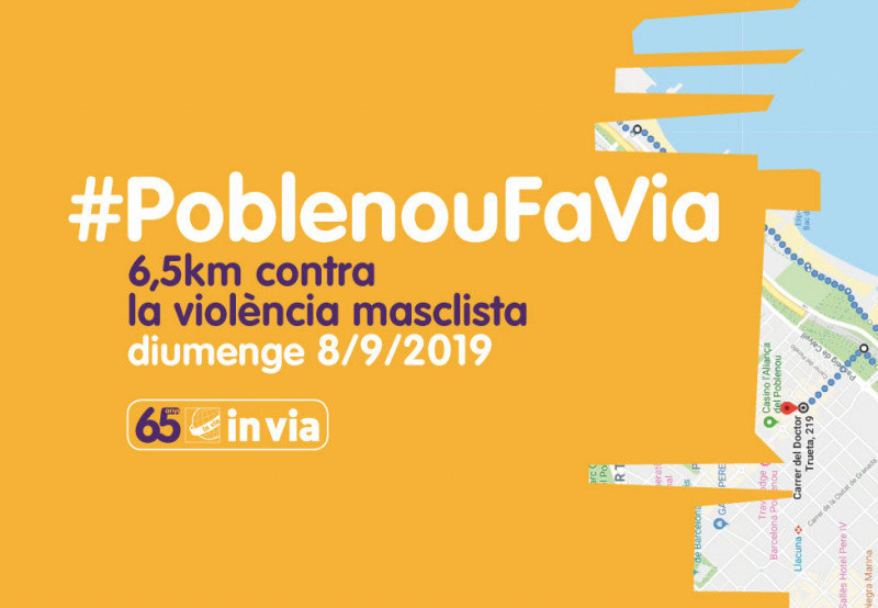 #PoblenouFaVia, la caminada contra la violència masclista, 8 de setembre