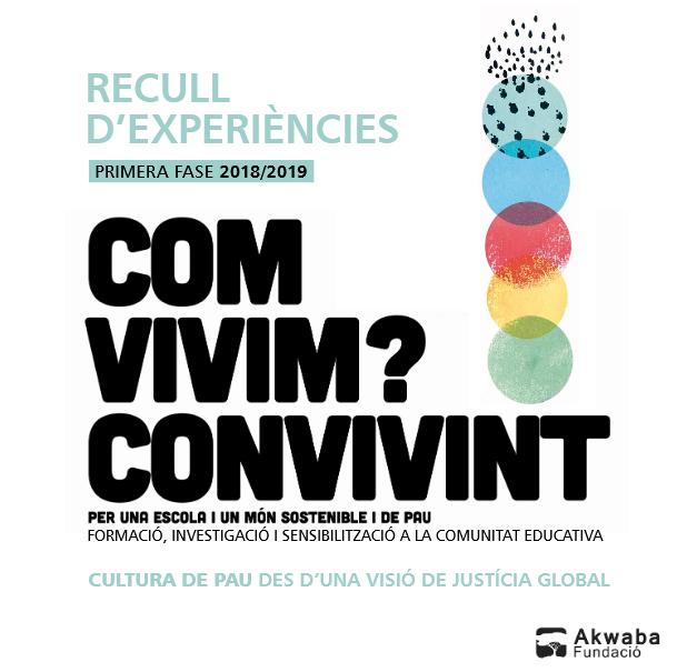 Llibret d'experiències del projecte 'Com vivim?' de la Fundació Akwaba