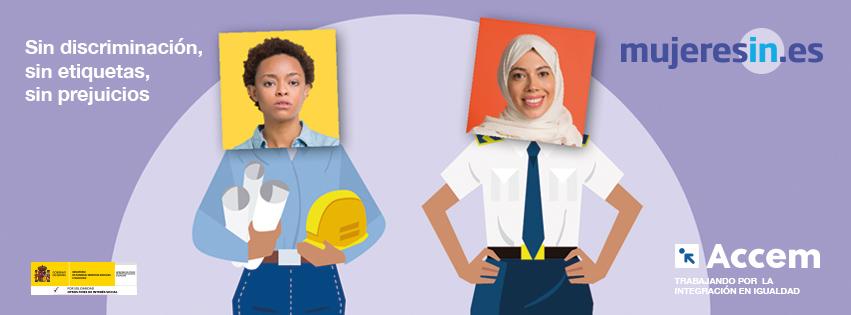 Campanya #MujeresIN, contra la discriminació laboral de les dones migrants