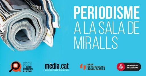 Taula rodona 'Periodisme a la sala de miralls' sobre els discursos discriminatoris, 26 de setembre