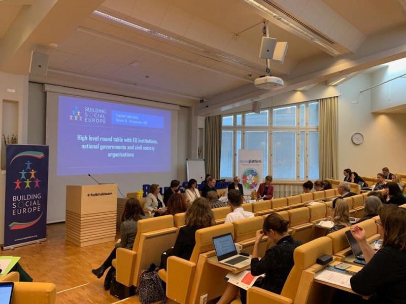 ECAS assisteix a l'Assemblea General d'ESAN a Helsinki