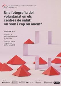 CANVI DE DATA | XIV Jornada catalana de Voluntariat i Salut, 15 de novembre