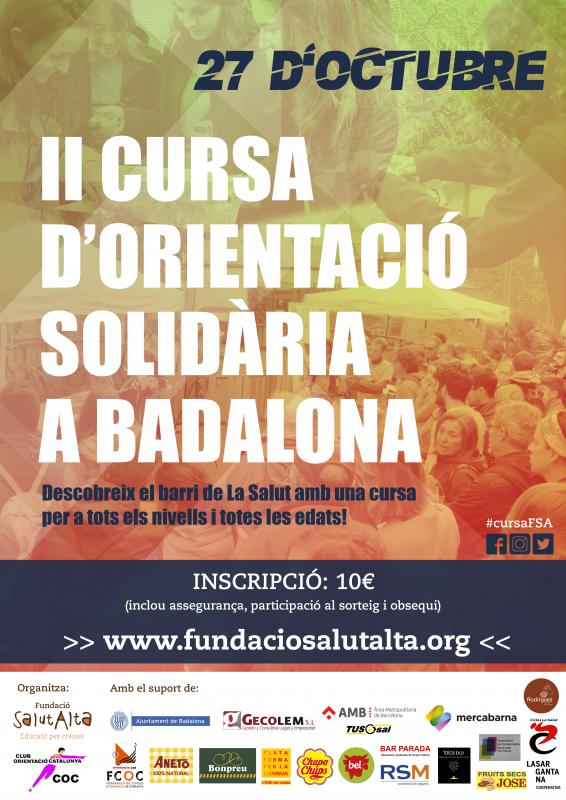 Obertes les inscripcions de la II Cursa d'Orientació Solidària de la Fundació Salut Alta