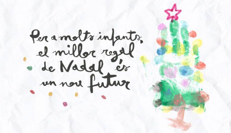 La Fundació Comtal llança una nova campanya solidària de Nadal per fer realitat els somnis de futur d'infants, joves i famílies en situació de vulnerabilitat