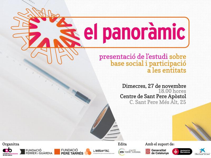 Presentació d'El Panoràmic 2019, 27 de novembre