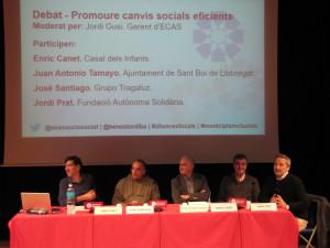 Taula rodona 'Promoure canvis locals eficients'