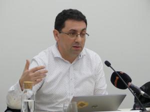Ferran Busquets, vocal de Pobresa d'ECAS.