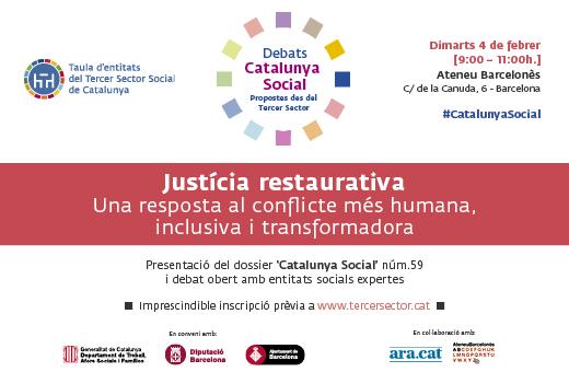 Debat sobre justícia restaurativa, 4 de febrer