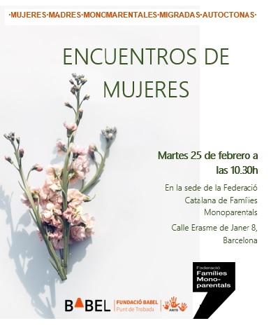 Projecte per a mares monoparentals, 25 de febrer