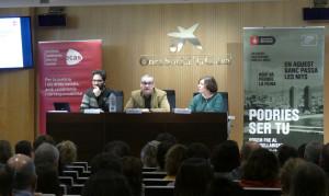 Taula rodona 'El problema de l'accés a l'habitatge per a les persones sense llar a Barcelona'