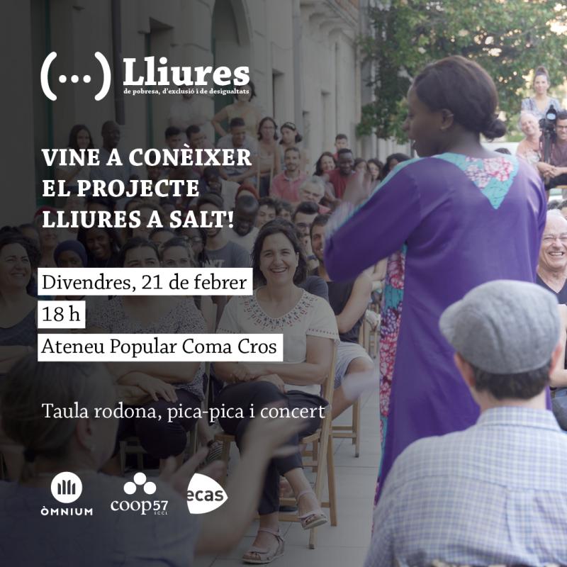 Presentació del Projecte Lliures a Salt, 21 de febrer