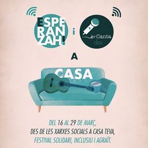 El festival 'Esperanzah a casa' fins el 29 de març