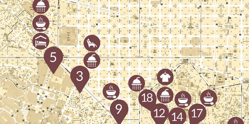 Arrels facilita informació pràctica per col·laborar amb persones sense llar