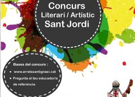 Arrels Sant Ignasi convoca un concurs per Sant Jordi