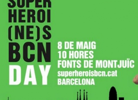 El 8 de maig, 'Posa't la capa!' pel Superheroi(ne)s BCN Day