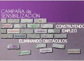 Àmbit Prevenció s'uneix a la campanya 'Eliminando obstáculos, construyendo empleo'