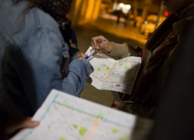 Càritas i Acollida i Esperança participen al primer recompte de persones sense llar de Badalona