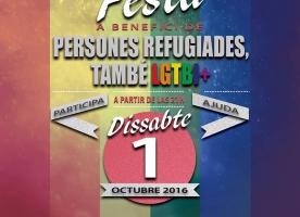 Festa solidària amb persones refugiades LGTBI, 1 d'octubre