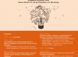 Seminari europeu sobre pobresa energètica, 8 d'octubre