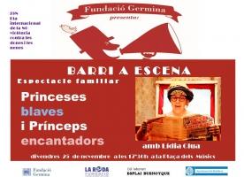 Espectacle 'Princeses blaves i prínceps encantadors' a Badalona pel 25N