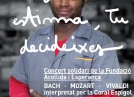 'Estigma o estima, tu decideixes', concert solidari amb la Fundació Acollida i Esperança