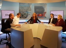 Entrevista a Teresa Crespo, David Fernàndez i Jordi Cuixart sobre el projecte Lliures a La Xarxa