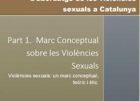 L'abordatge de les violències sexuals a Catalunya, estudi de l'ICD