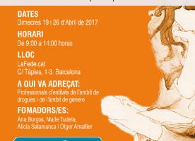 Perspectiva de gènere i drogues, formació per a professionals, 19 i 26 d'abril