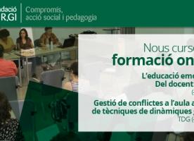 Edició 2018 dels cursos de formació online per a docents de la Fundació SER.GI