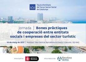 Jornada 'Bones pràctiques de cooperació entre entitats socials i empreses del sector turístic', 10 de maig