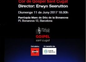 Concert de gòspel per celebrar els 20 anys de Punt de Referència, 11 de juny