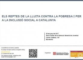 Jornada 'Els reptes de la lluita contra la pobresa i per a la inclusió social a Catalunya', 28 de juny