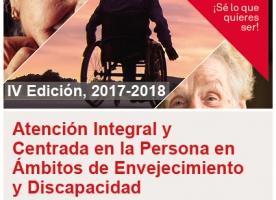 Màster en Atenció Integral i Centrada en la Persona en Àmbits d'Envelliment i Discapacitat, curs 2017-2018