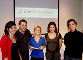 Organitzacions i professionals de l'advocacia creen la xarxa #SomDefensores davant la repressió