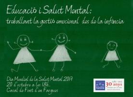 Col·loqui sobre salut mental, 20 d'octubre