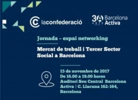 Mercat de treball i Tercer Sector Social, 15 de novembre