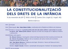 Constitucionalització dels drets de la infància, 16 de novembre