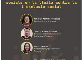 Taula rodona sobre polítiques europees i entitats socials contra l'exclusió, 17 de novembre a Tarragona