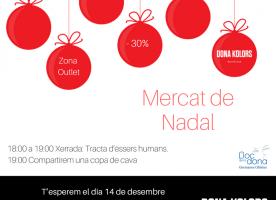 Mercat de Nadal de Dona Kolors, 14 de desembre