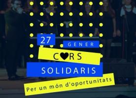 Concert 'Cors Solidaris per un món d'oportunitats', 27 de gener
