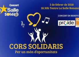 Concert 'Cors solidaris' en favor de la Fundació Comtal, 2 de febrer