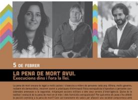 La pena de mort al cicle 'Els dilluns dels Drets Humans', 5 febrer