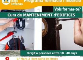 Formació sobre manteniment integral d'edificis, febrer