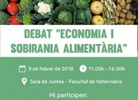 Debat sobre 'Economia i sobirania alimentària', 9 de febrer